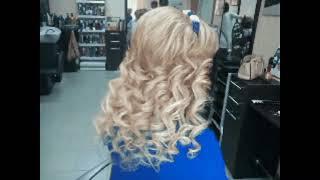 Прическа.Работу выполнила парикмахер-универсал Огорельцева Альбина
