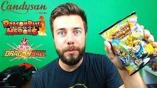 DRAGON BALL Z CANDY | Dragon Ball Heroes Cards | Candysan Mystery Box!