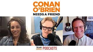 Conan Experiments With A Deeper Voice   Conan O'Brien Needs a Friend