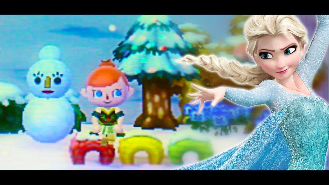 When Animal Crossing Meets Frozen