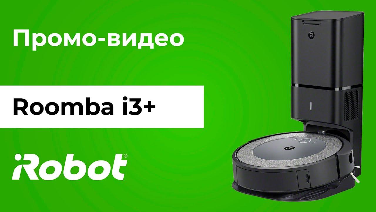 Промо-видео iRobot Roomba i3+