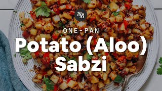 1-Pan Potato (Aloo) Sabzi | Minimalist Baker Recipes