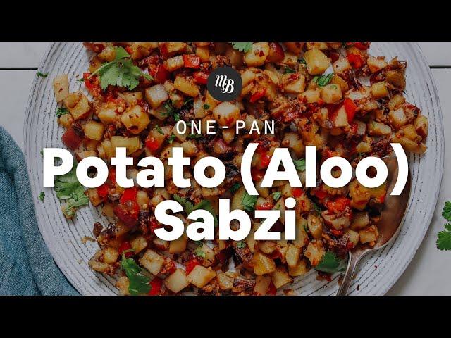 1-Pan Potato (Aloo) Sabzi | Minimalist Baker Recipes