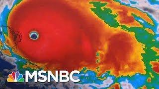 Hurricane Dorian Makes Landfall In Bahamas As 'Catastrophic' Category 5 | MSNBC