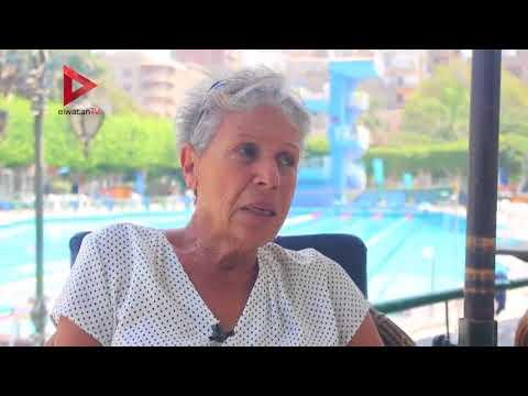 سباحة مصرية تحقق انجازات عالمية بعد سن الـ70