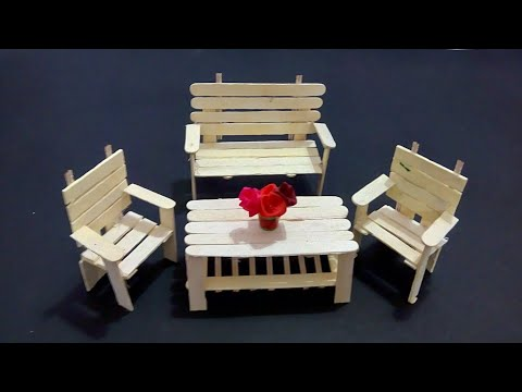 Download Dollhouse Furniture Diy Miniature Table And Chair Popsic