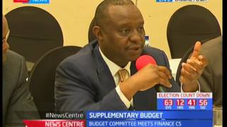 CS Henry Rotich answers questions by the budget and supplementary committee