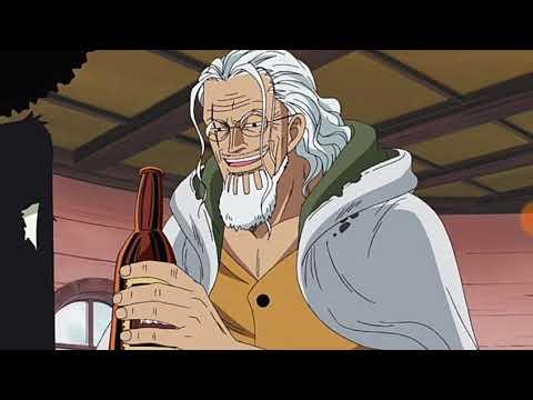 (Ван пис )Луффи узнал что Шанкс плавал с королём пиратов