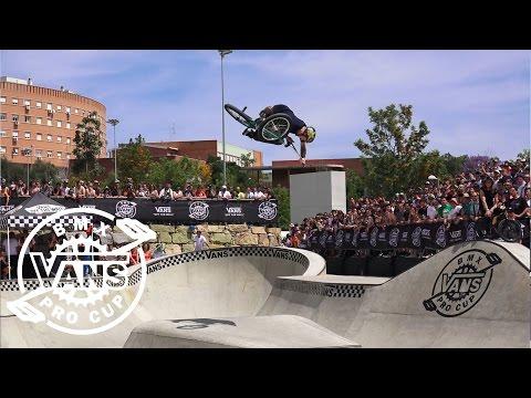 2017 Vans BMX Pro Cup Series: Chase Hawk - 1st Place Run in Spain | BMX Pro Cup | VANS