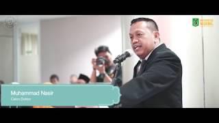 Universitas Nasional – Sidang Doktoral Politik Muhammad Nasir