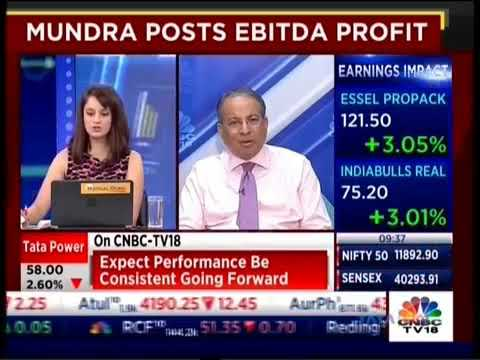 Mr Praveer Sinha, MD & CEO, Tata Power interviewed on CNBC TV 18 for a profitable Q2