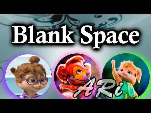The Chipettes - Blank Space (Lyric video)