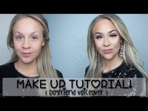 Makeup Tutorial!  Isse (min boyfriend) gör voiceover