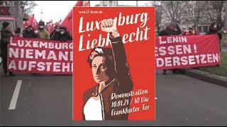 LL-Demonstrationen am 10.01.2021 – in Berlin und in vielen anderen Städten