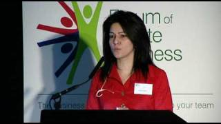 Kavita Oberoi - Growth Beyond the Recession - Forum of Private Business