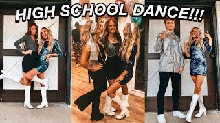 asking a boy to a high school dance! | SADIES!! (ft. day date, GRWM, jazz game)