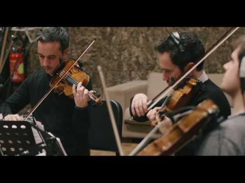 Quatuor Ebène & Michel Portal record 'Elucubration' for the album Eternal Stories
