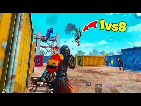 8 Enemies RUSHED me in Novo and Survival Challenge in PUBG Mobile