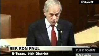 Ron Paul best speech - message to Anonymous