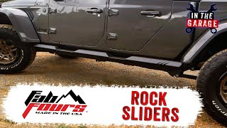 In the Garage Video: Fab Fours Armor System Rock Sliders