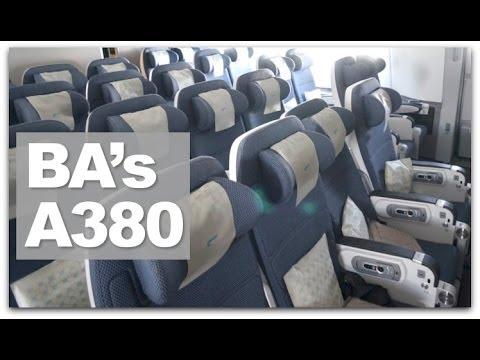 British Airways A380   Economy & Premium Economy Reviewed