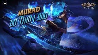TRAILER   Mọi vị thần đều đứng dưới ta! Murad Đồ Thần Đao - Garena Liên Quân Mobile