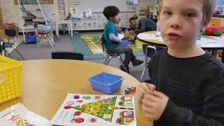 Kindergarten Spanish Immersion Math Centers