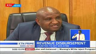 County Gov'ts are set to receive Ksh 378B after the president signed the division of revenue bill