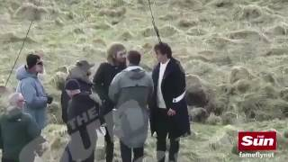 Harry Styles Filming 'Sign Of The Times' Music Video In Scotland