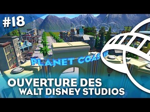 WALT DISNEY STUDIOS ! 🎥🎬 - Planet Coaster #18 - HD