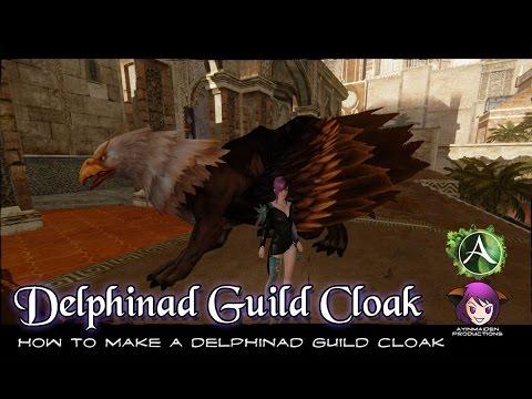 ★ ArcheAge ★ - Upgrading to a Delphinad Guild Cloak