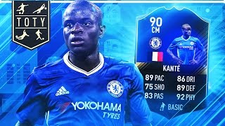 OMG TOTY KANTE!! (The dream player) - FIFA 17 ULTIMATE TEAM