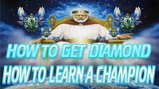 LoL Guide: How To Get Diamond: How To Master A Champion [League Of Legends]