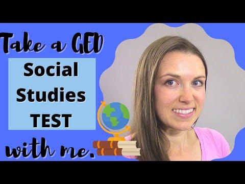 GED SOCIAL STUDIES TEST 2021 - PASS the TEST!! . HiSET ...