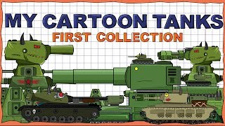 """""""My models collection Part 1"""" Cartoons about tanks"""