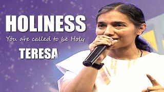 How to lead a Holy life - Teresa | Divine Retreat Centre