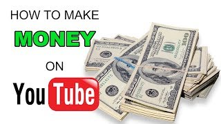 How to make money on YouTube - Editing