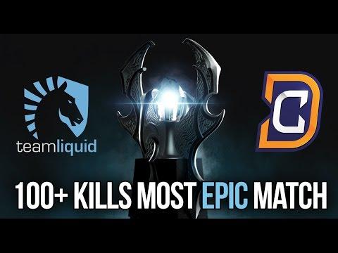 DC vs. LIQUID | MOST EPIC MATCH KIEV MAJOR 100+ KILLS Dota 2