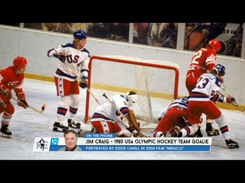 1980 USA Olympic Hockey Team Goalie Jim Craig Dials in To The RE Show - 2/23/17