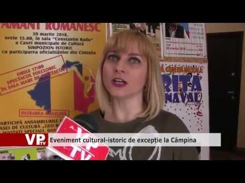 Eveniment cultural-istoric de excepție la Câmpina