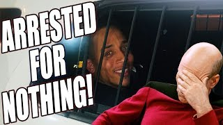THIS COP GOT MAD CAUSE I WAS RECORDING HIM & ARRESTED ME!
