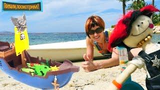 Видео для детей - Игрушки Капуки Кануки на пляже
