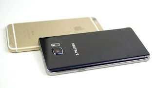 Galaxy Note 5 vs. iPhone 6 Plus - Speed Test