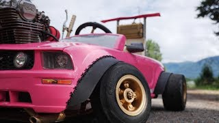 Wide Body Kit On The Power Wheels Mustang