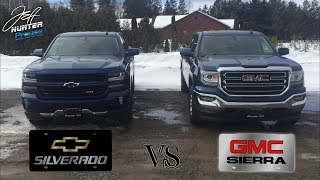 What's The Difference Between A GMC Sierra And Chevrolet Silverado