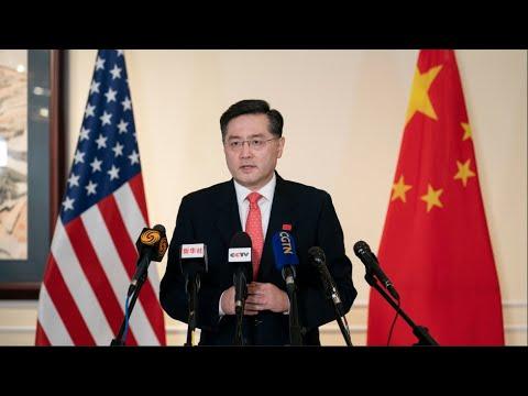 China's new ambassador to U.S assumes office