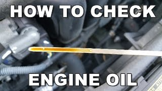 How To Check Engine Oil Properly