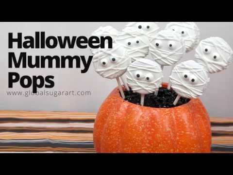 Mummy Cholocate Pops | Sneak Peak | Global Sugar Art