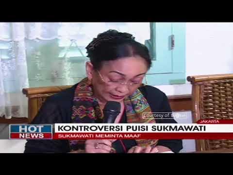 Sambil Menangis, Sukmawati Soekarnoputri Meminta Maaf