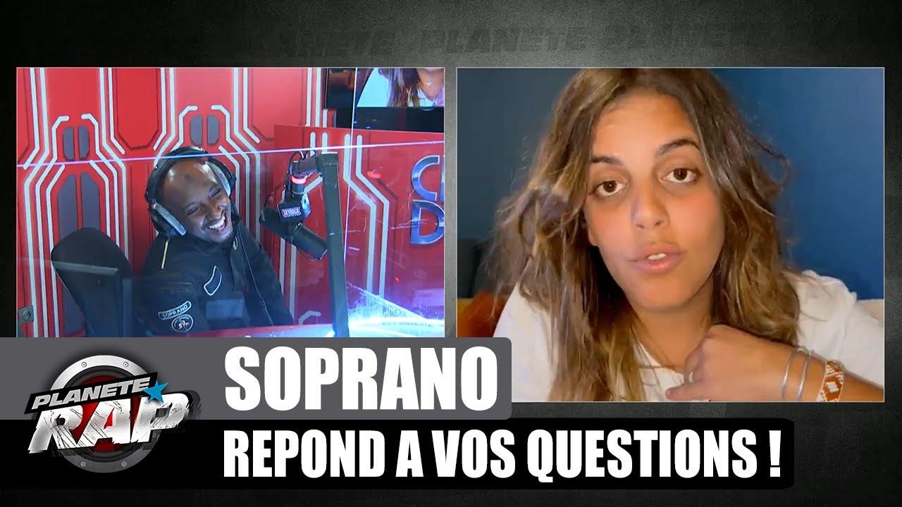 SOPRANO répond à VOS questions mais aussi à INES REG et MAES ! #PlanèteRap